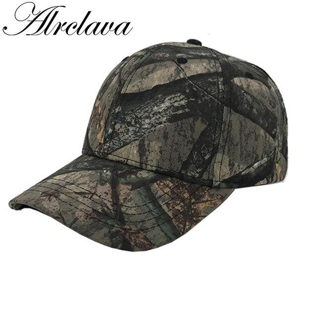 97951d7210b5d Gorra de béisbol del Snapback caza pesca camuflaje sombrero para hombres y mujeres  deportes al aire
