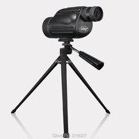 GOMU 10 30X50 zoom monocular telescope waterproof Nitrogen Hand held Portable Spotting Scope target birdwatching bak4 Original