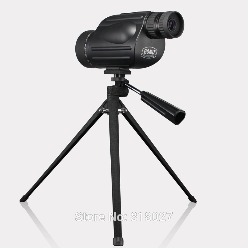 GOMU 10-30X50 zoom monocular telescope kalis air Nitrogen Tangan diadakan Portable Spotting Scope target birdwatching bak4 Original