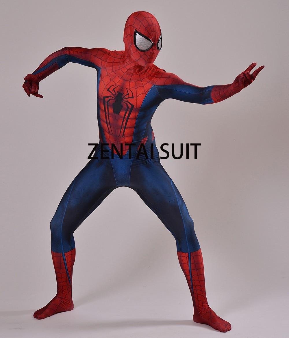 Մանկական մեծահասակների Spiderman - Կարնավալային հագուստները - Լուսանկար 5