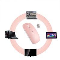 2 4G Wireless Maus 1600 DPI Optische 10 M Büro Business-spezifische Notebook Mause PC Mäuse Für Microsoft Laptop