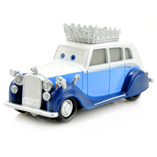 Disney Pixar Cars Cartoon Cars 2 British Queen Toys Mini 1:43 Diecast Metal Alloy ABS Birthday Christmas Gifts For Kids Boy Girl(China)