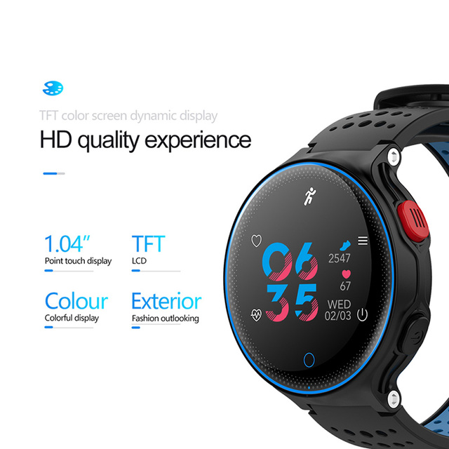 Smartwatch COlMI IP68 IOS e Android Inteligente 2