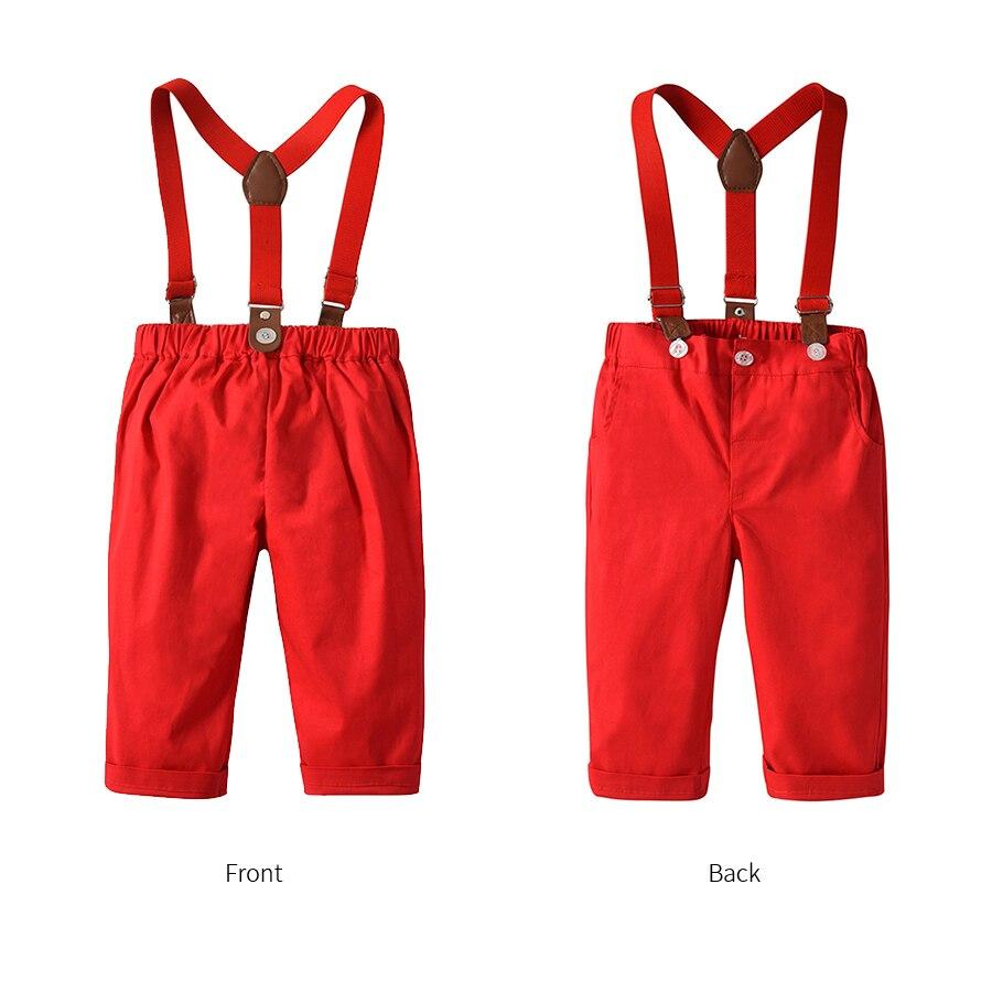 Kimocat Kids Baby Boys Christmas Clothing Set Long Sleeve Shirt+ ...