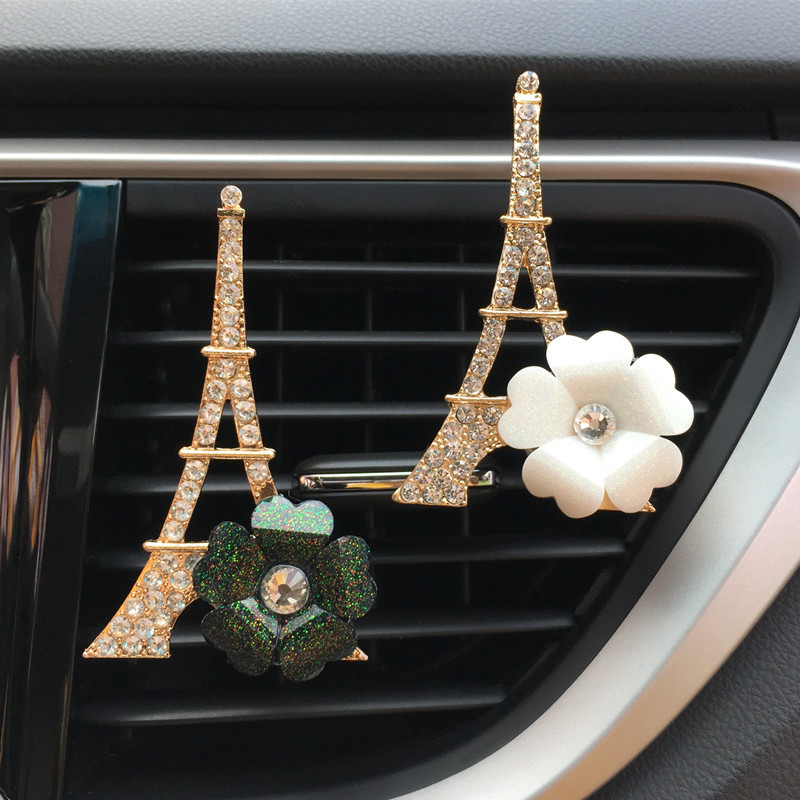 JOORMOM Tower flower Female car vent clip fashion car decoration car perfume auto accessorie