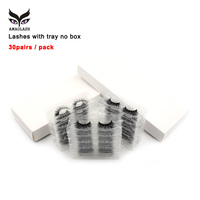 AMAOLASH 30Pairs/Lot Eyelashes 3D Mink False Eyelash Cruetly Free Lashes Fluffy Volume Lash length and drama false lashes Makeup