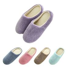 Women Winter Warm Ful Slippers Women Slippers Cotton Sheep Lovers Home Slippers Indoor House Shoes 2018 Woman 37-43(China)