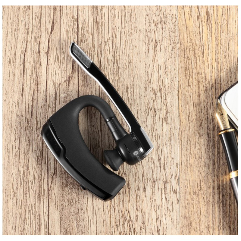 New K6 Wireless Bluetooth Earphone Headphones Handsfree Noise Cancelling Business Bluetooth Headset with mic for iphone samsung in Bluetooth Earphones Headphones from Consumer Electronics