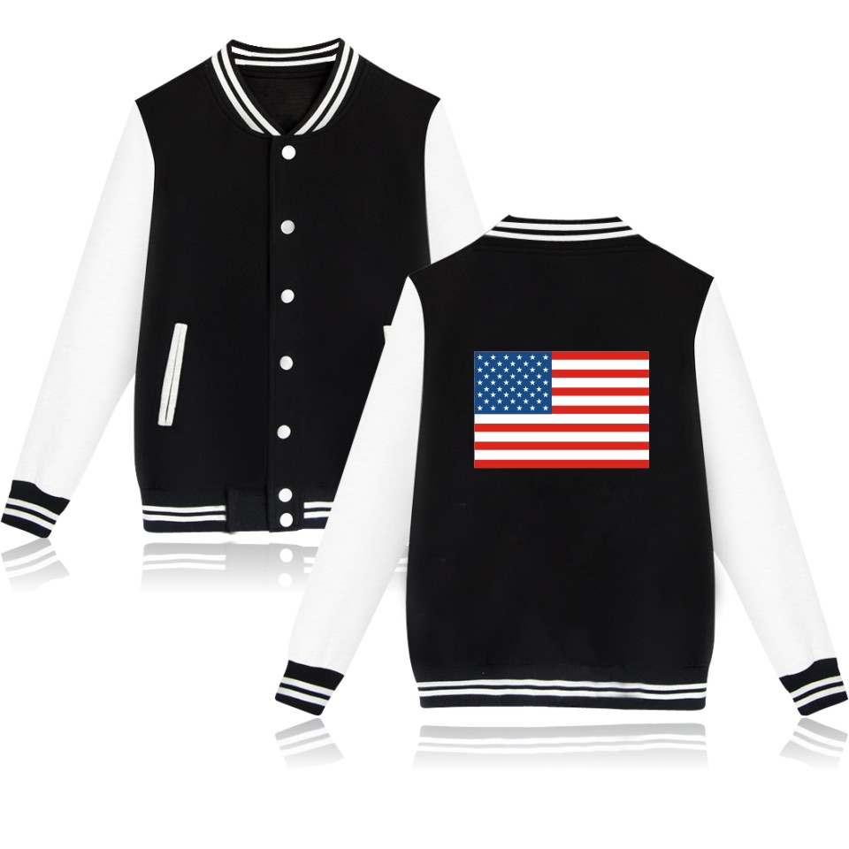 США модные черные мужские/мужские Толстовки и свитшоты Бейсбольная Одежда Соединенные Штаты Повседневное 4xl Большие размеры Бейсбольная о... ...