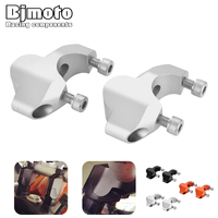 CNC Motorcycle Handlebar Clamp Riser Handle Bar Risers Mount Clamp Adapter For KTM Adventure 1050 1090 1190 1290 ADV GT