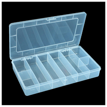 Plastic 8 Compartments Multifunctional Electronics Tool Parts