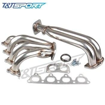 Stainless Steel Header Manifold Exhaust Pipe for Honda Civic 88-00 EK EG D-SERIES Engine Exhaust Header header civic eg
