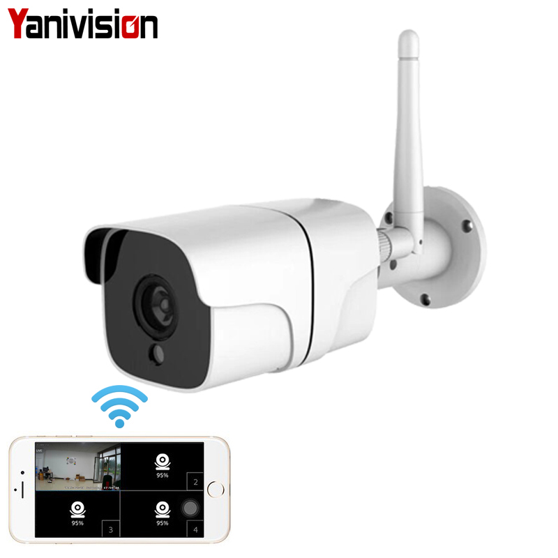 4MP 2MP Wireless Security Camera System 1080P IP Camera Wifi SD Card Outdoor Audio CCTV System