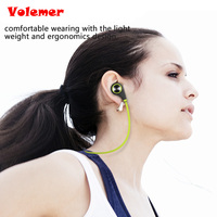 Volemer Q9 Bluetooth Earphone Wilress Headphones in Ear Bluetooth 4.0 Headset Stereo Sports Earbuds Mic PK QY7 QY8 for iPhone