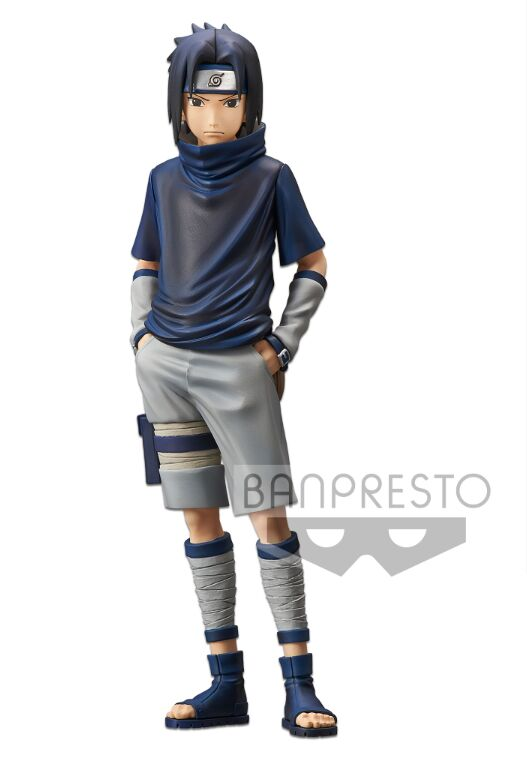 Figure-Toys Sasuke-Model Naruto Grandista Original Banpresto Shinobi Relations Anime