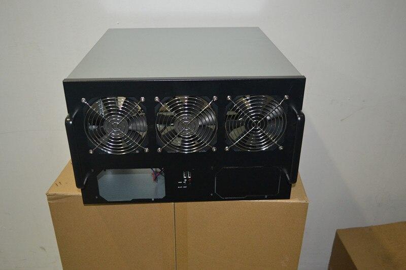 Châssis 6U multi graphique châssis GPU 6U rack est un châssis que vous pouvez installer 6 cartes graphiques