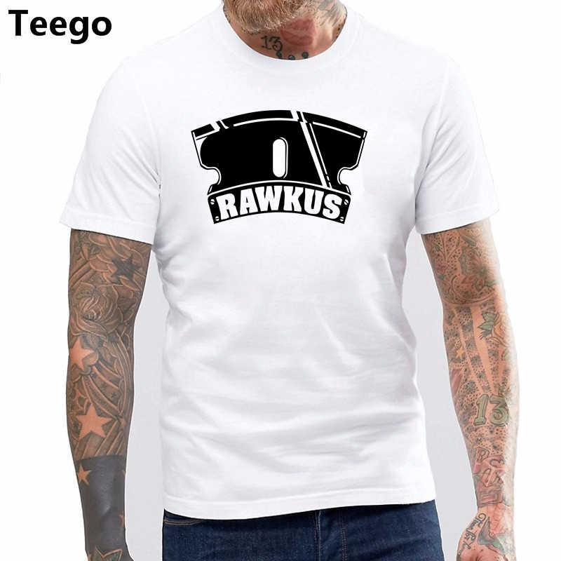 Rawkus 記録男性 tシャツ綿 100% のトップス男性ブランド tシャツウータンクラン Mos Def エミネム Talib Kweli