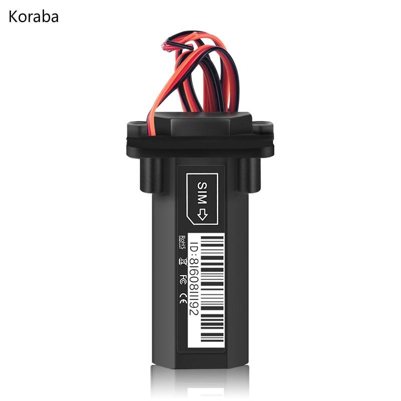 Mini Wasserdichte Builtin Batterie GSM GPS tracker für Auto motorrad fahrzeug tracking gerät mit online-tracking-system software