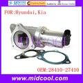 Nova Válvula EGR Válvula de Recirculação Dos Gases de Escape OE NO. 2841027410/28410-27410 para Hyundai Kia