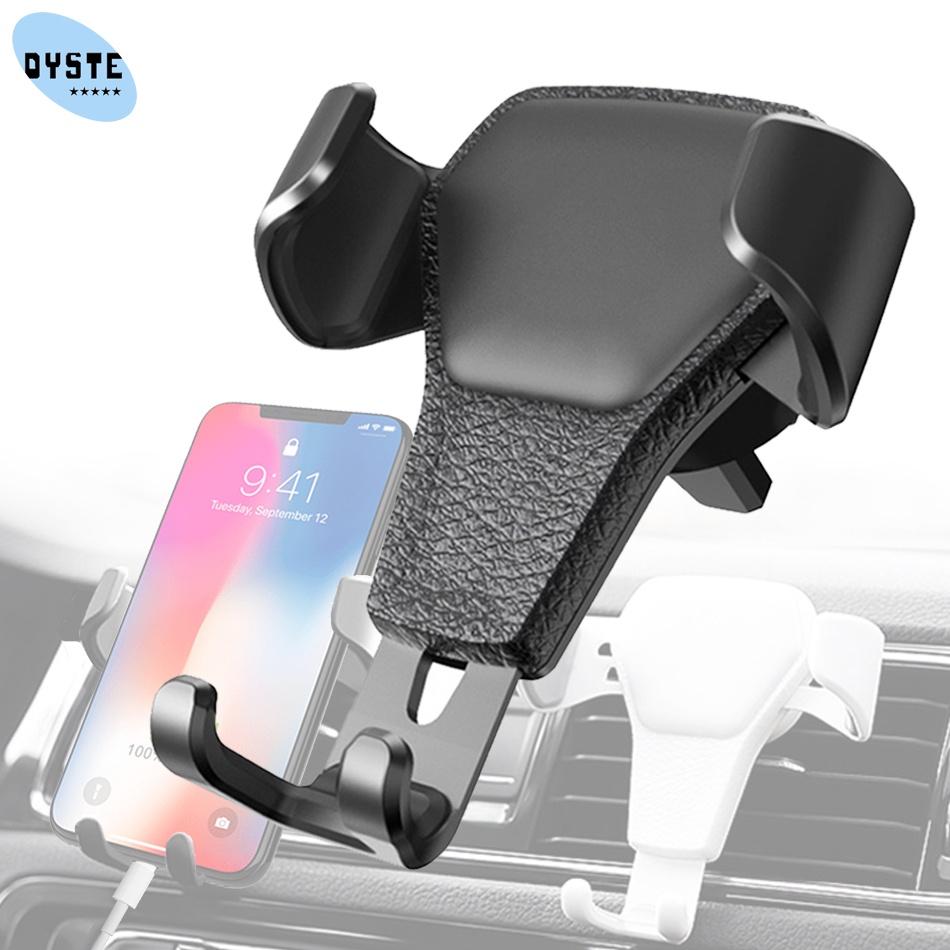 Air Outlet Car Phone Holder For Huawei P20 P40 Lite P30 Pro Car Holder Honor 30 10 9 Phone Car Holder For IPhone Samsung Support