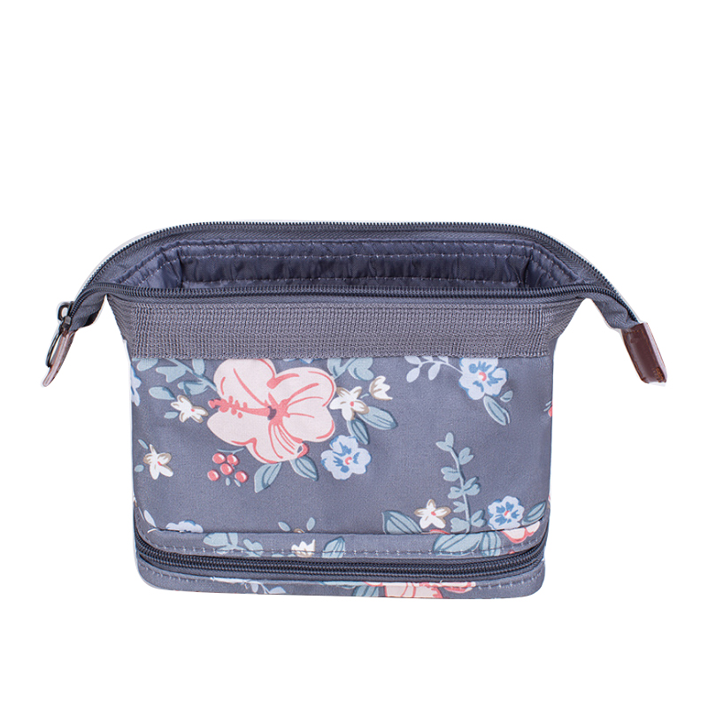 Wobag Cosmetic-Bag Beauty-Box Polyester-Material Flamingo Bear-Design Fashion Women
