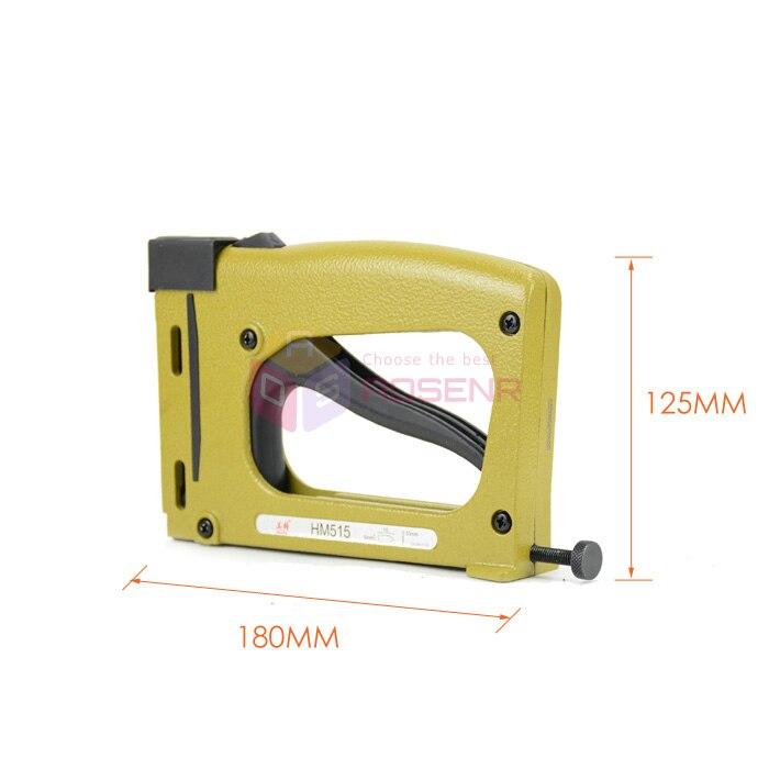 Manual de Parche de Uñas Pistola De Grapas Grapadora Clavadora HM515 ...