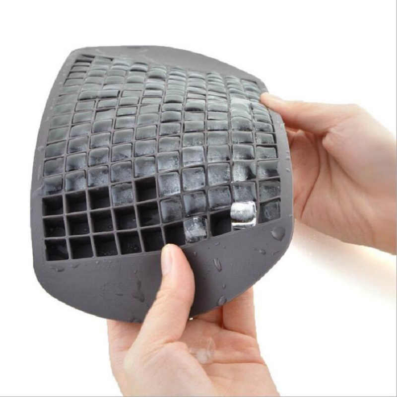 Mini Kecil Es Kisi Cetakan 160 Grid (1*1 Cm) silikon Cookies Cetakan Kue Chocolate Ice Cube Tray Bakeware Dapur Alat