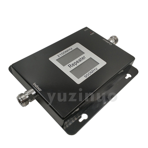 Image 3 - 65dB Gain 17dBm AGC Dual Band Repeater Band 8 GSM 900 LTE Band 1 3G UMTS WCDMA 2100mhz Cellular Mobile Signal Booster Amplifier