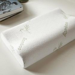 Bamboo Fiber Neck Pillow Slow Rebound Health Care Fatigue Relief High Quality