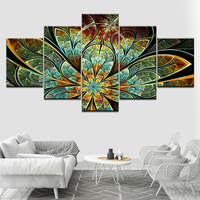 5D Diy Diamond Painting Cross Stitch full Square/round Diamond Embroidery abstract flower picture for room Decor