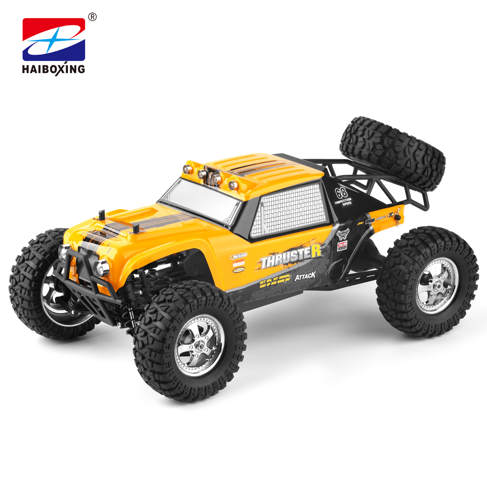 HBX 12889 RC Car 4WD 2.4Ghz 1:12 Scale Two speed Transmission LED Lights Remote Control  ...
