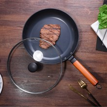 Fine Iron Stainless Frying Pan Uncoated Pot Hot Seller With Non-stick Kitchen Fried Rice Steak