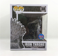 Funko pop Song Of Ice And Fire Game Of Thrones & Iron Throne Action Figure toys for children birthday Gift with retail box