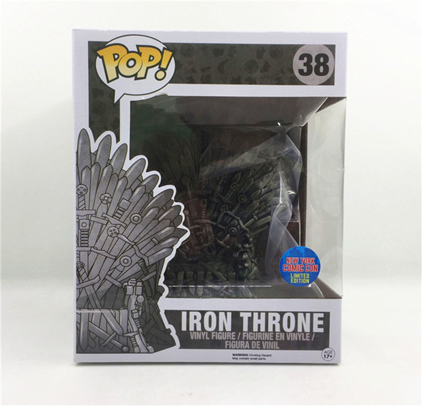 Funko pop Song Of Ice And Fire Game Of Thrones & Iron Throne brinquedos Action Figure toys for children Gift with retail boxFunko pop Song Of Ice And Fire Game Of Thrones & Iron Throne brinquedos Action Figure toys for children Gift with retail box