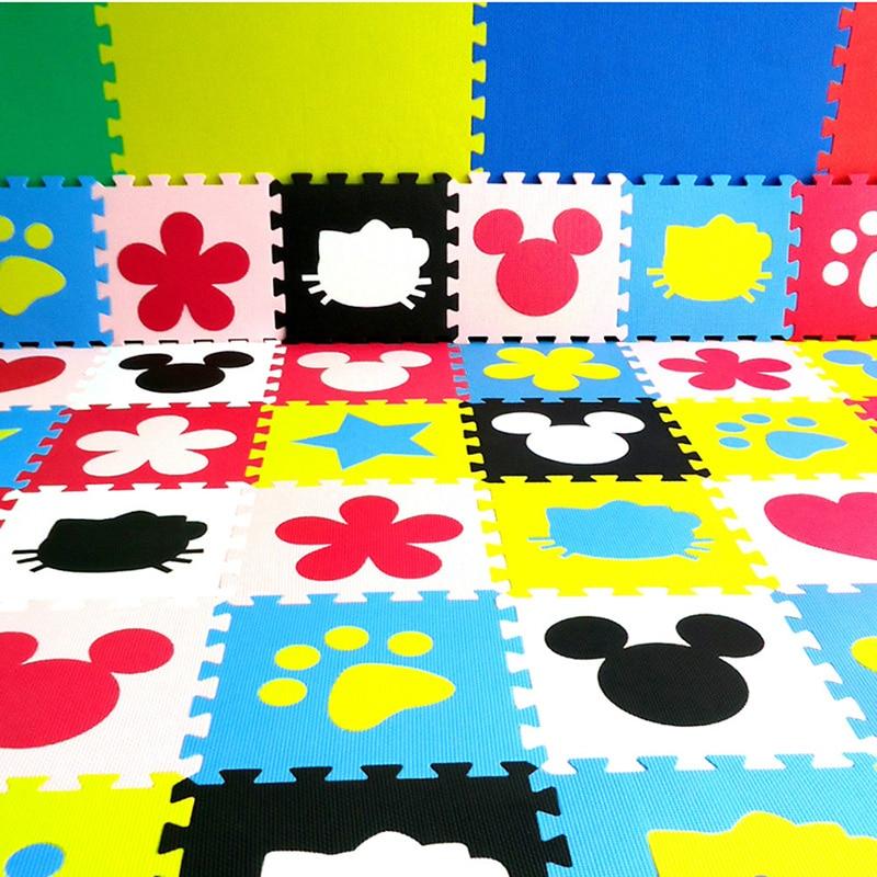 Children s soft developing crawling rugs baby play Block number letter cartoon eva foam mat pad Innrech Market.com