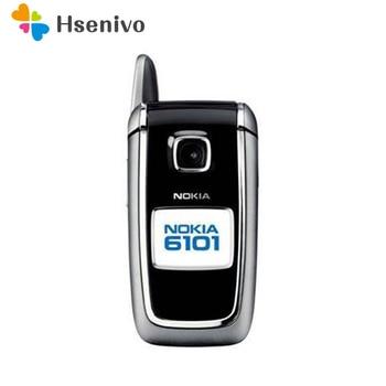 6101 100% original phone Nokia 6101 Flip refurbished cell phone refurbished