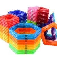 16-64 шт Мини Размер Магнитные дизайнерские магниты 3D моделирование строительные блоки игрушки для детей подарки на день рождения