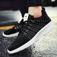 QIAOJINGREN Men Casual Shoes 2017 Spring Autumn Lace Up British Style Breathable Mesh Suede Top Fashion