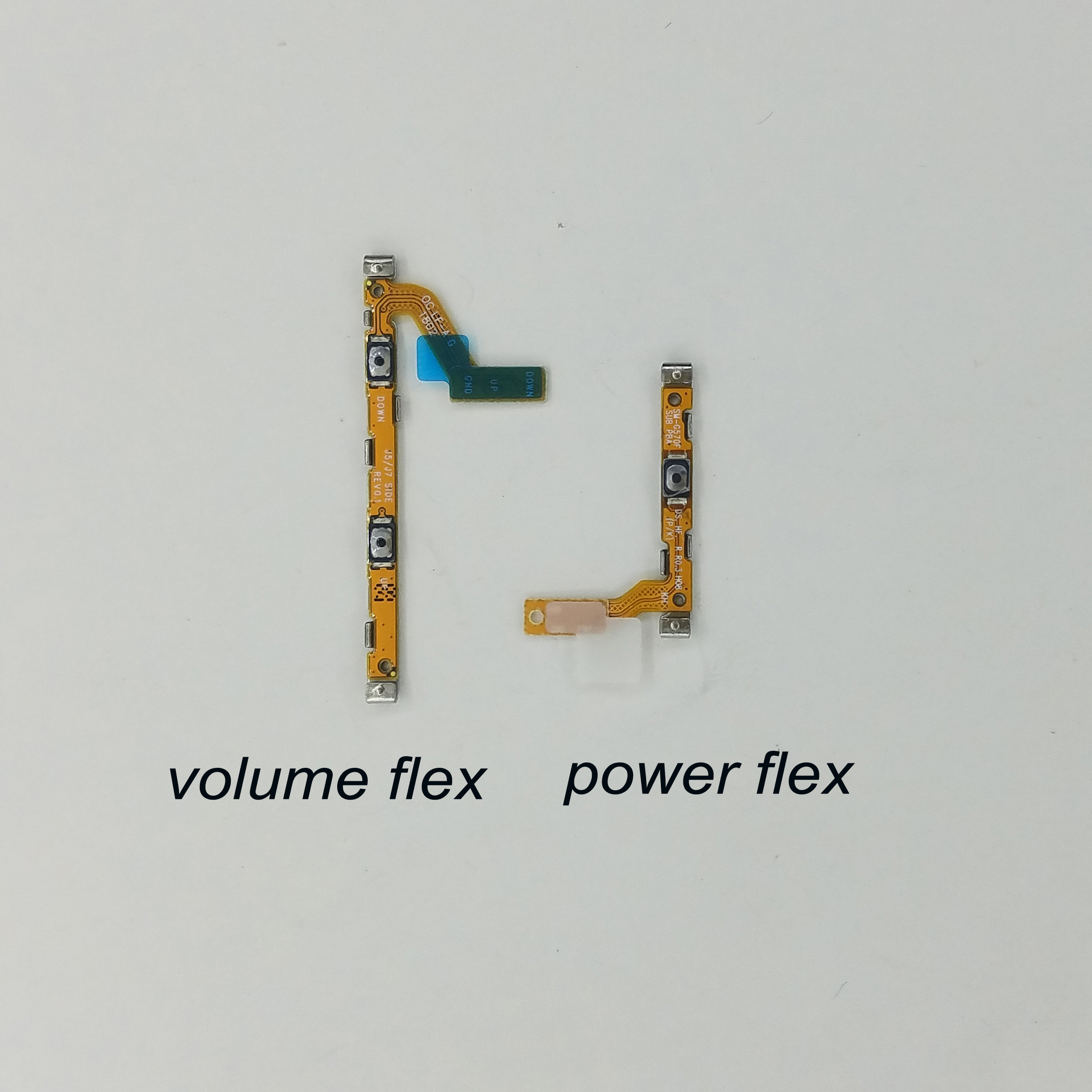 For Samsung Galaxy J5 Pro 2017 J530 J530F J530G J530FD Original Phone Housing New Power Volume Button Side Key Flex Cable