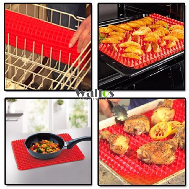 Pyramid Bakeware Pan Nonstick Silicone Baking Mats Pads Moulds Cooking Mat Oven Baking Tray Sheet Kitchen Tools