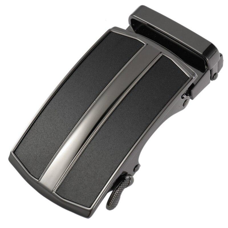 New Zinc Alloy Men's Skin Lead Automatic Belt Buckle Automatic Buckle 3.5cm Ratchet Men Apparel Accessories LY36-22114
