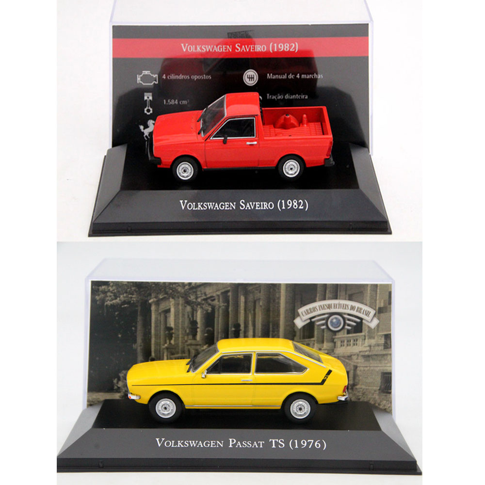 Altaya 1:43 IXO For V~W Gol/1500 1982/Voyage/Kombi/Gol/Santana/Passat/Fusca/Saveiro Diecast Models Toy Cars Collection Miniature