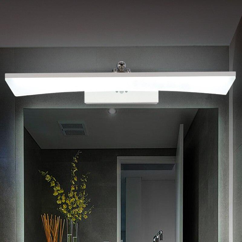 40cm/60cm/80cm/100cm/120cmStraight Type Bathroom Wall Light Mirror Front Lamp LED Wall Light Wall Mirror Bathroom Lamp 40cm 12w acryl aluminum led wall lamp mirror light for bathroom aisle living room waterproof anti fog mirror lamps 2131