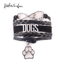 """Super cute """"LOVE DOGS"""" bracelet / 4 Colors"""