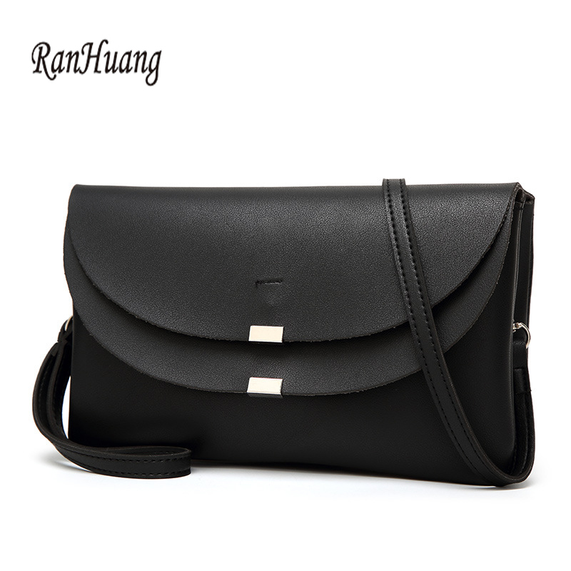 RanHuang Women Small Shoulder Bags High Quality Pu Leather Messenger Bags Ladies Brief Crossbody Bags Designer Clutch Bags A965