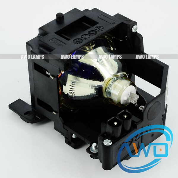 RLC-017 compatible lamp with housing for VIEWSONIC PJ658