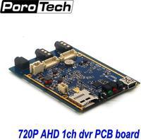 1CH Mini AHD XBOX DVR PCB Board 30fps Security Digital Video Recorder Support 128GB SD Card