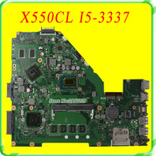 For Asus motherboard X550CC X550CL REV2.1 I5-3337 Processor N14M-GE-S-A2 HD 8670M fully test before shipping