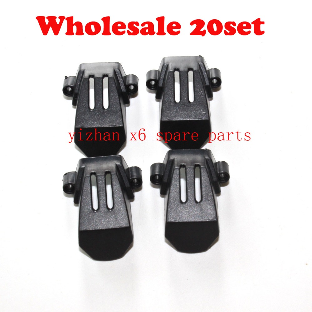 wholesale JJRC H16 YiZhan Tarantula X6 RC Quadcopter Spare Parts X6 Motor Cover kit 20set jjrc h16 motor gear