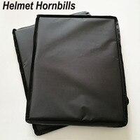 Helmet Hornbills 2PCS 11 X 14 Aramid NIJ Level IIIA Ballistic Soft Panel Set NIJ 3A